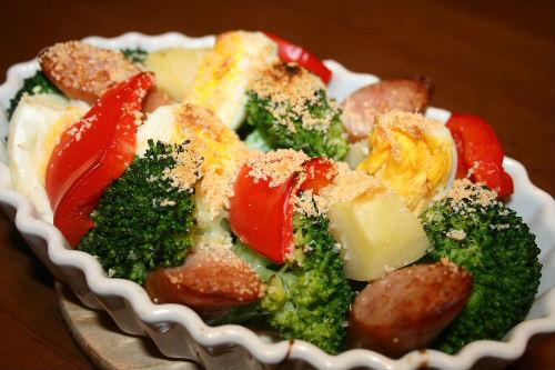 焼き野菜サラダ1