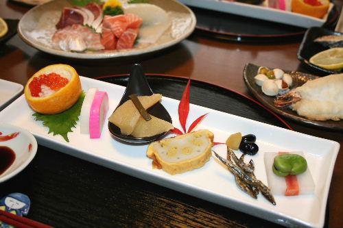 元日夕食1