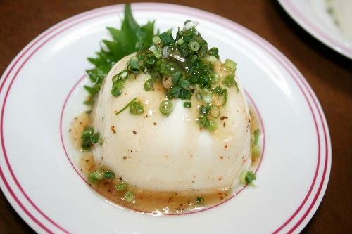 ハーブのお豆腐