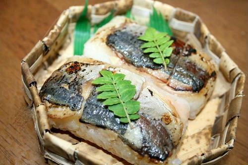 焼きあじ寿司