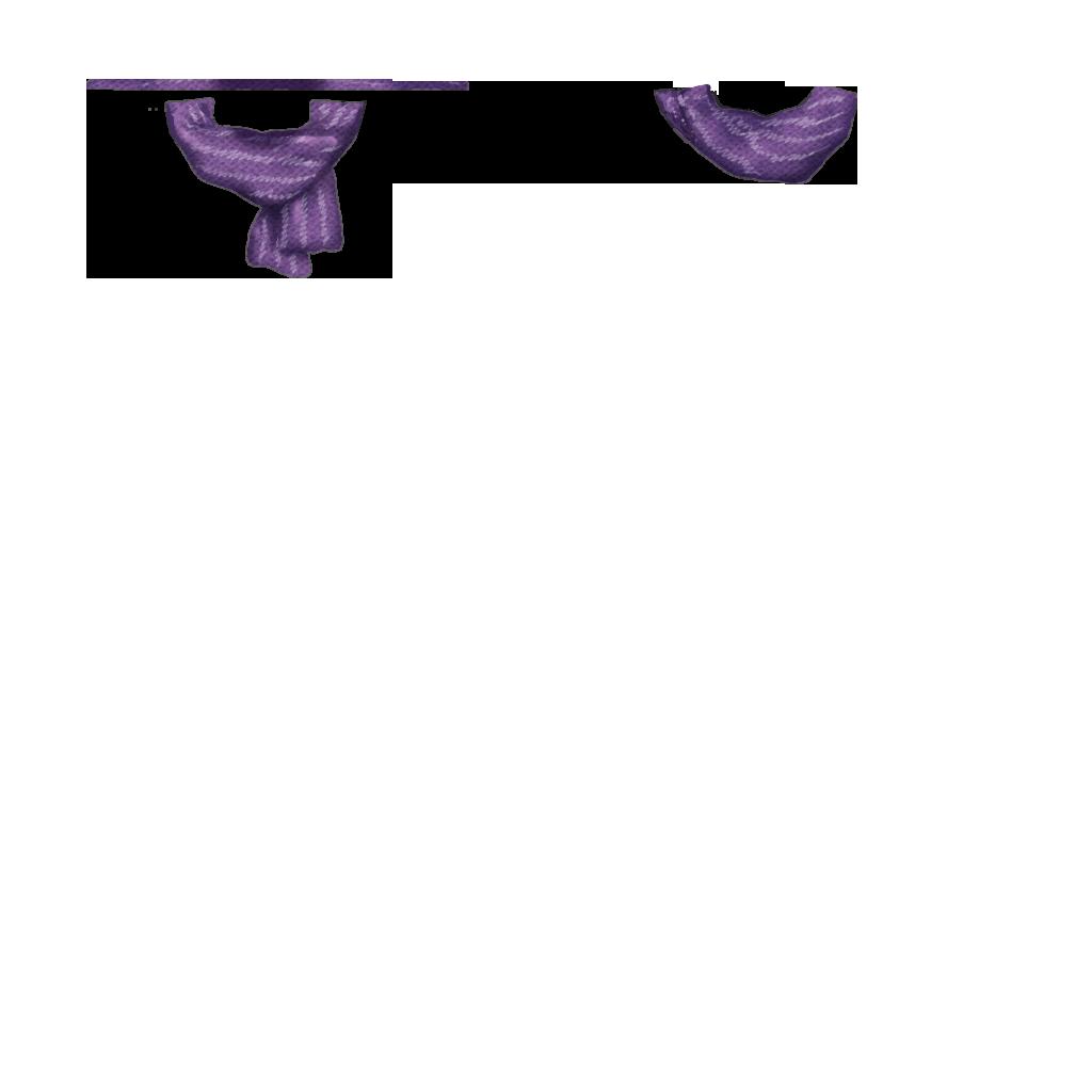 文化祭マフラー(紫)