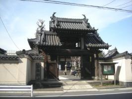 弘福寺門前