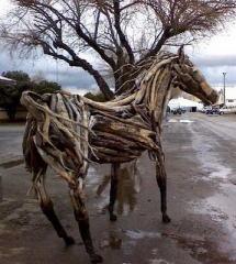 Tree Horse Art
