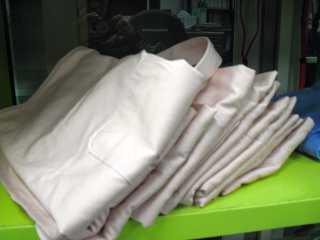 LiSAエプロン洗濯