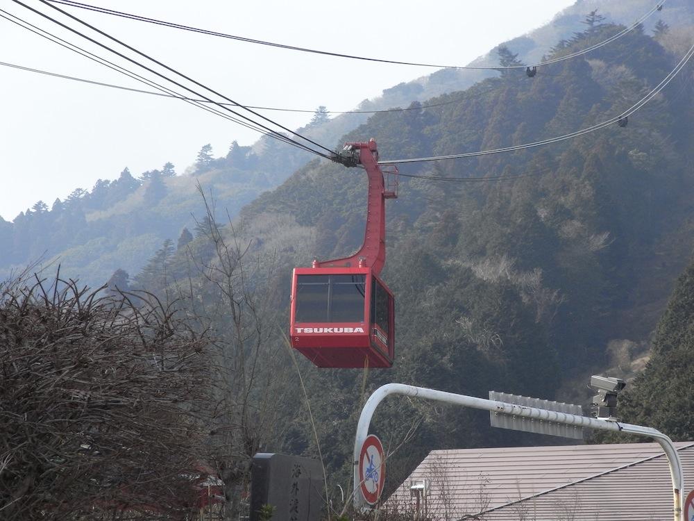 筑波山にて2