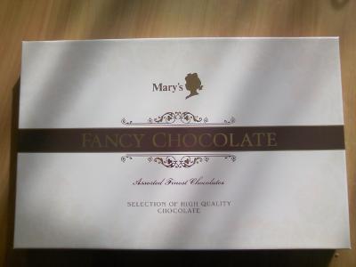 メリー チョコレート箱