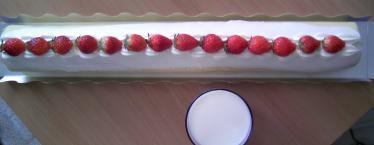 ながーいケーキ