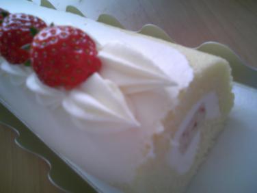 ながーいケーキ2