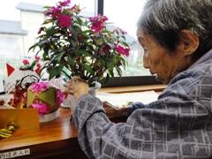 お花がきれいに咲くように☆
