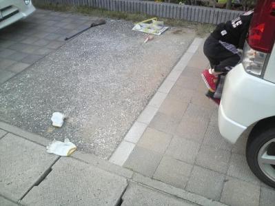 駐車場固め (11)