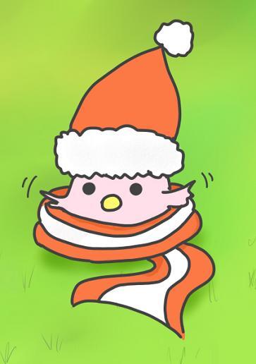 クリスマス七面鳥(マフラー)