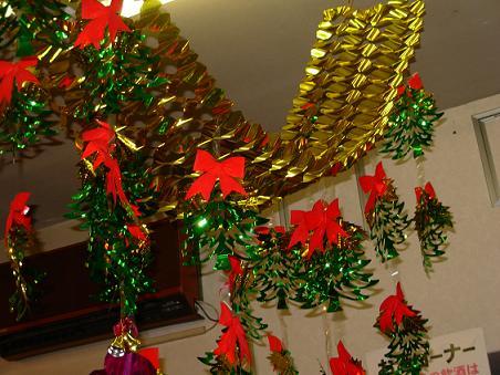 クリスマスの飾り♪