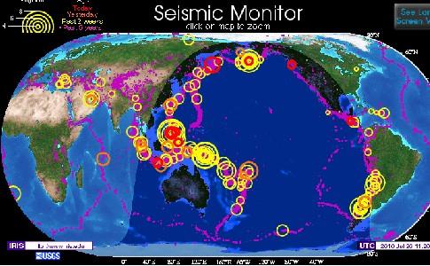 S 世界地震