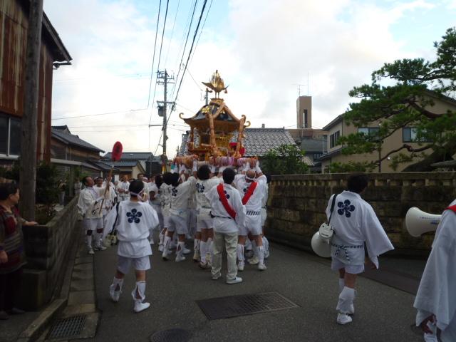 畝田のお神輿