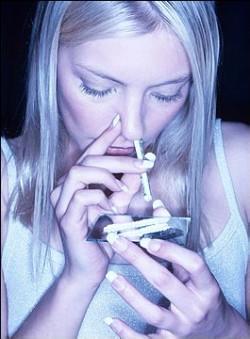 鼻から吸う