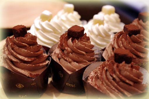 ショコラカップ チョコクリーム