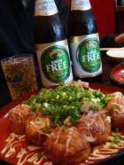 ノンアルコールビールで乾杯☆