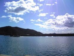 天気も良くて海もキレイ
