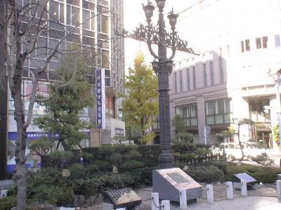 旧東京市道路元標と道路元標(複製)