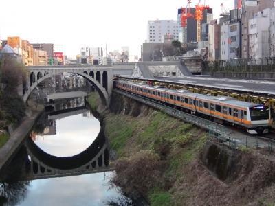 御茶ノ水駅にて2