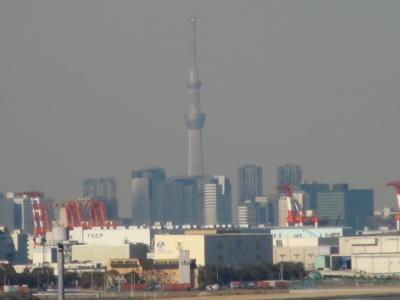 羽田空港からの東京スカイツリー