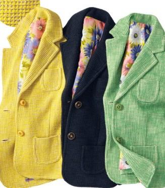 黄色のジャケット