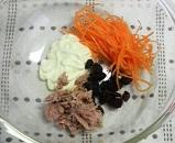 人参とツナのサラダ1
