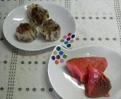 鮭とシュウマイ