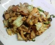 厚揚げと肉野菜の味噌炒め