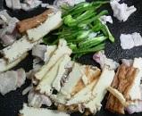 厚揚げと肉野菜の味噌炒め2