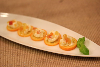 金柑の前菜