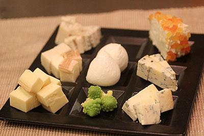 今月のチーズ