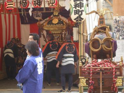 神保町三崎神社のおまつり