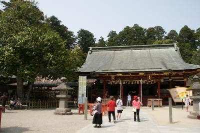 塩竈神社左、右宮