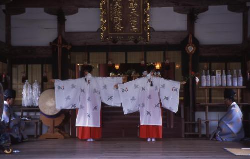 宗像大社 舞