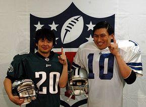 NFL倶楽部収録後のオードリー・若林(左)とオードリー・春日(右)
