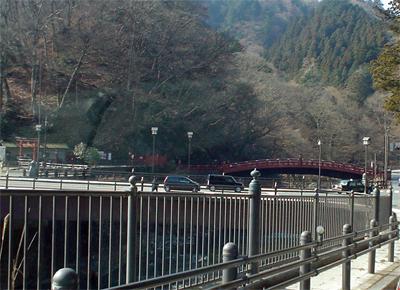 今日(2/24)の神橋