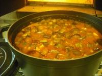 石窯スープ