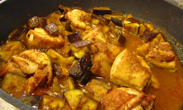 chicken eggplant