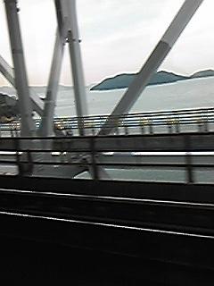 091119電車からの瀬戸大橋