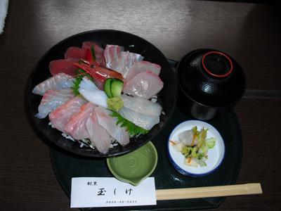 玉しげ 海鮮丼