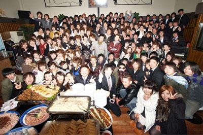 2010 成人式 東山中学校