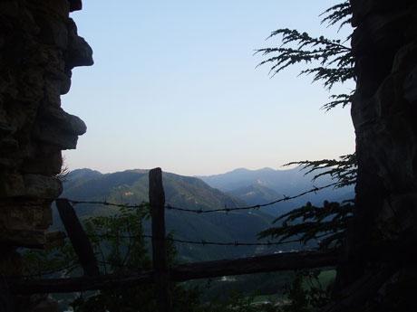 castelloから見た景色