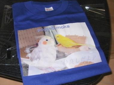 インコTシャツ 118