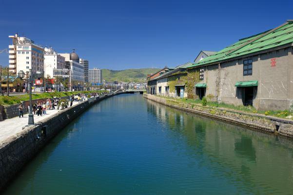 これだよ小樽運河っぽい絵は。フォトライブラリーにアップしよう