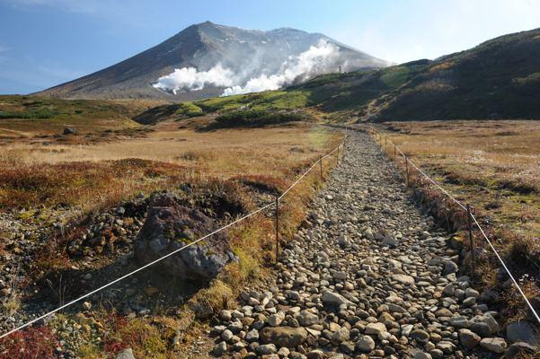 こんな山、これでも北海道最高峰