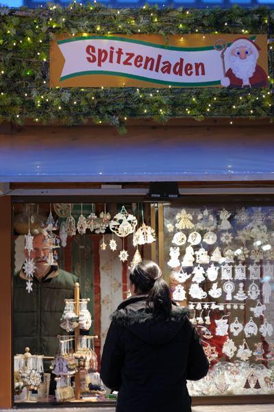 店の人はなんかドイツ人っぽいです