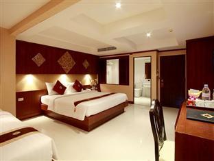 パトンビーチ夜遊び派人気ホテル13 ラヤ ブリ ホテル パトン (Rayaburi Hotel Patong)