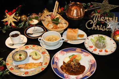 クリスマスディナー(例)