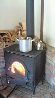 いてきどう暖炉保存